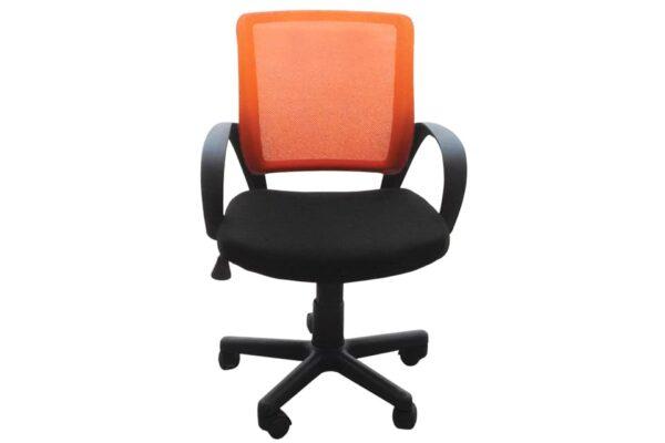 polithrona-grafeiou-portokali-mavro-mesh-venus-2