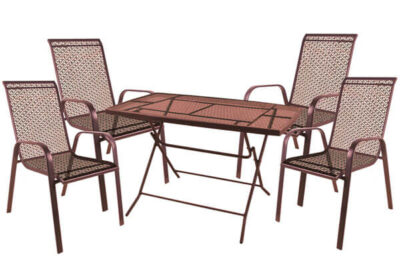 set-trapezaria-kipou-metalliki-5-temaxion-kafe-iron-copper-2