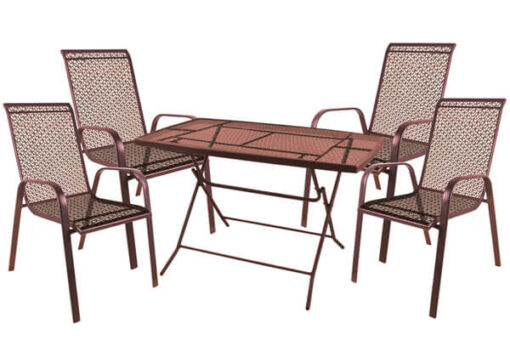 set-trapezaria-kipou-metalliki-5-temaxion-kafe-iron-copper-2