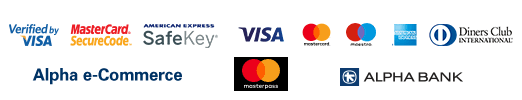 Alpha Bank Payment Icons - Accepted Cards