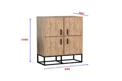 mpoufes-ntoulapi-2-portes-93x36x115-mavro-sonoma-modern-2