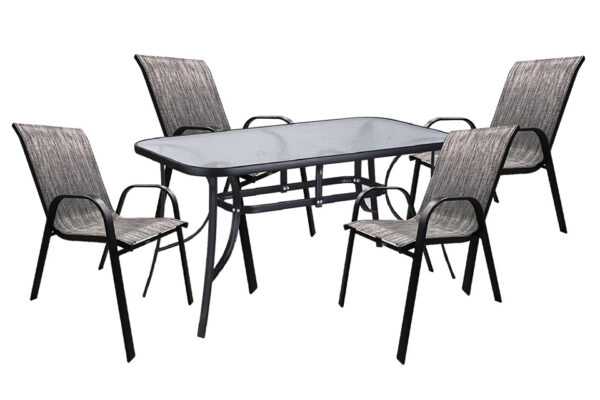 set-trapezaria-kipou-5-temaxion-140x80-mavri-kafe-mix-best-best