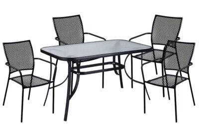 set-trapezaria-kipou-5-temaxion-120x70-mavro-fiera-best