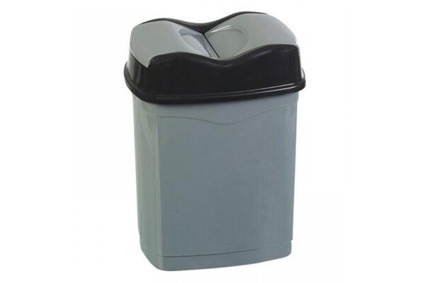 kados-plastikos-25lit-double-click-kapaki-gkri-mavro-18343058